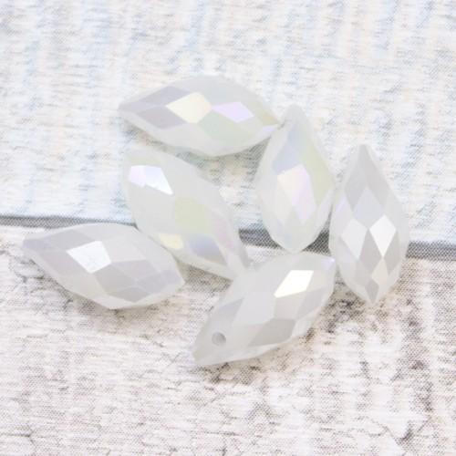 טיפה 13/5 Shiny White Pearl
